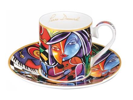 Set šolja za espreso - Pierre Dissard Instrumentalist