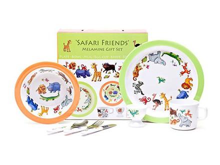 Set za jelo - Safari, 7 komada - Just For Kids