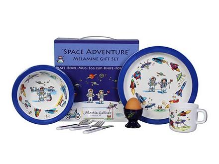 Set za jelo - Space Adventure, 7 komada - Just For Kids