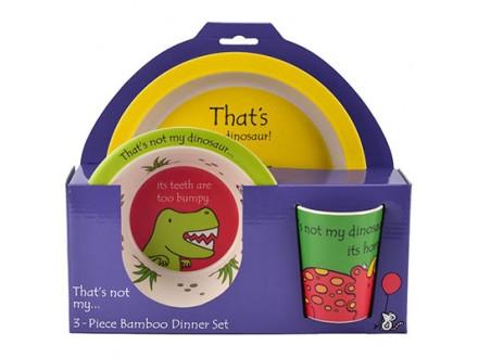Set za jelo - That`s Not My Dinosaur - That`s Not My Dinosaur