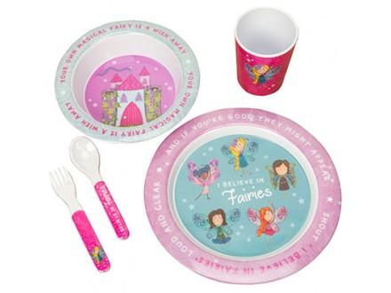 Set za jelo - The Magical Fairy, 5 komada - Magical Fairy