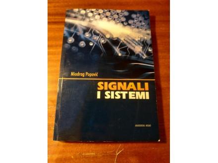 Signali i sistemi Miodrag Popović
