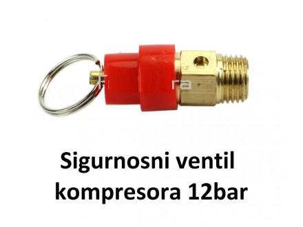 Sigurnosni ventil kompresora - 12bar - 1/4`