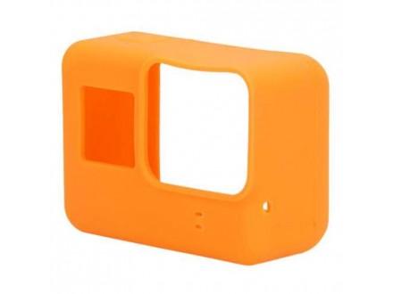 Silikonska Maska / oklop za GoPro 5 narandzasta (MS)