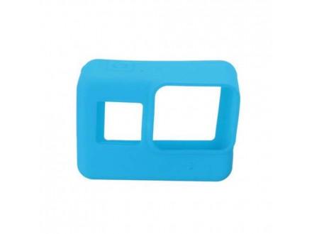 Silikonska Maska / oklop za GoPro 5 plava (MS)