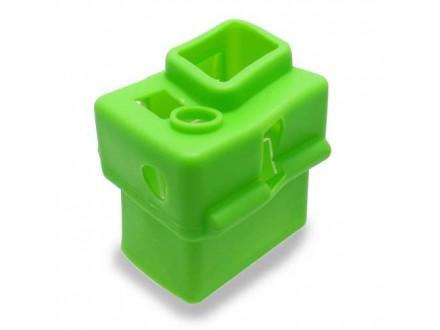 Silikonska Maska / oklop za GoPro Hero 3+/4 zelena (MS)