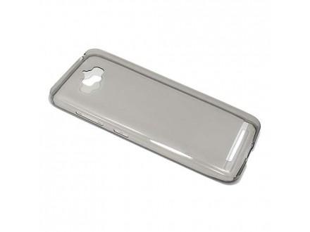 Silikonska futrola skin PROTECT za Asus ZENFONE Max ZC550KL siva (MS)