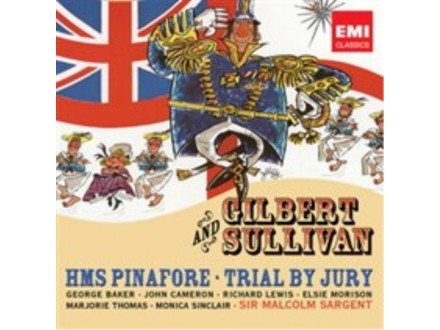 Sir Malcolm Sargent - Trial By Jury 2xCD