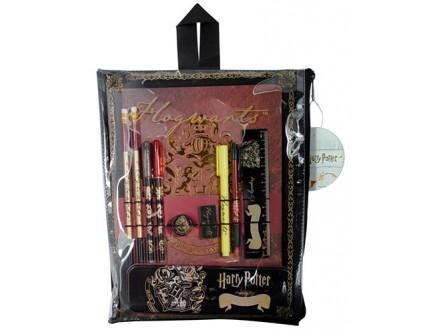 Školski Set - HP, Hogwarts Crest Bumper Stationery Set - Harry Potter