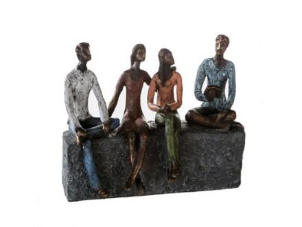 Skulptura - Network bronze