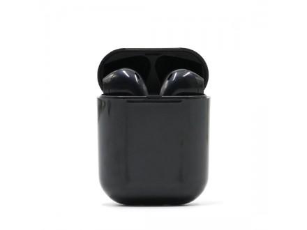 Slusalice Bluetooth Airpods I9S za Iphone 7/8/X HQ crne (PopUp Window)