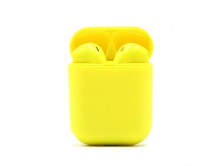 Slusalice Bluetooth Airpods I9S za Iphone 7/8/X HQ zute (PopUp Window)