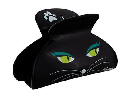 Šnala - Ladyclip, Black Cat - Tout en beaute