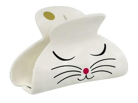 Šnala - Ladyclip, White Cat