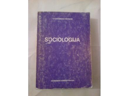 Sociologija - dr Aleksandar Todorović