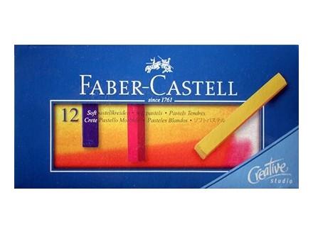 Softpastel 1/12, Meke pastelne boje - Faber-Castell