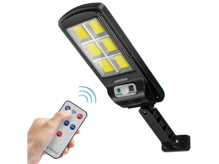 Solarni LED Reflektor 120 dioda +Daljinski, Novo