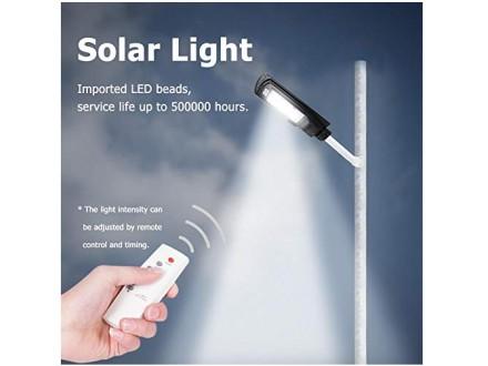 Solarni ulicni reflektor na daljinsko upravljanje 100W