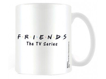 Šolja - Friends, Logo White - Friends
