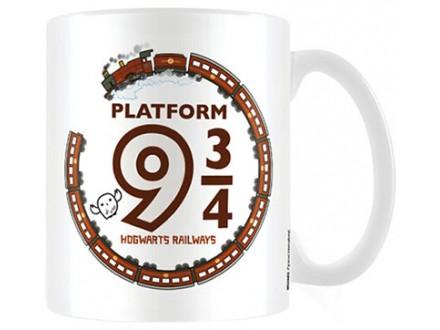 Šolja - Harry Potter, Chibi, Platform 9 3/4 - Harry Potter
