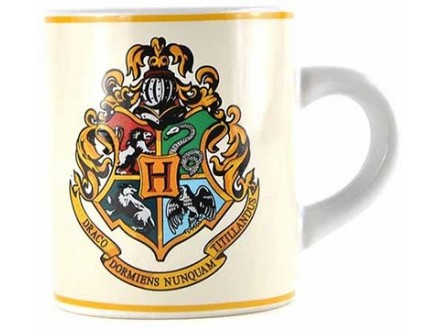 Šolja - Harry Potter, Hogwarts Crest 110ml - Harry Potter