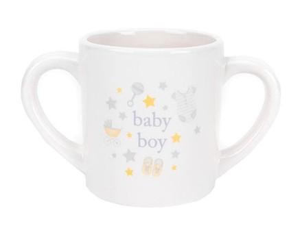 Šolja - Hello Baby, Double Handled, Baby Boy - Hello Baby