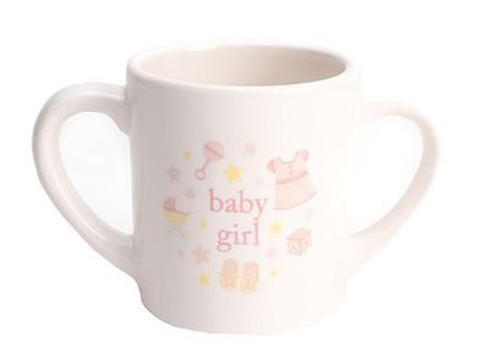 Šolja - Hello Baby, Double Handled, Baby Girl - Hello Baby