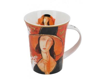 Šolja - Modigliani, Woman in a hat - Modigliani