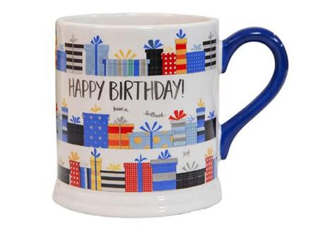 Šolja - Quicksilver, Blue Happy Birthday - Quicksilver