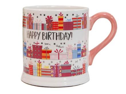 Šolja - Quicksilver, Pink Happy Birthday - Quicksilver