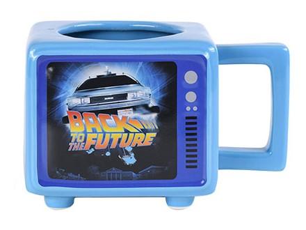 Šolja - Retro TV, Back To The Future, Flux Capacitor - Back to the Future