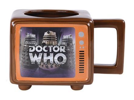 Šolja - Retro TV, Dr Who, Hide Behind The Sofa - Doktor Who