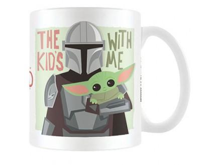 Šolja - Star Wars, The Mandalorian, The Kids With Me - Star Wars, The Mandalorian