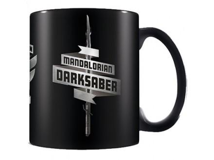 Šolja - The Mandalorian 2, Darksaber, Black - Star Wars
