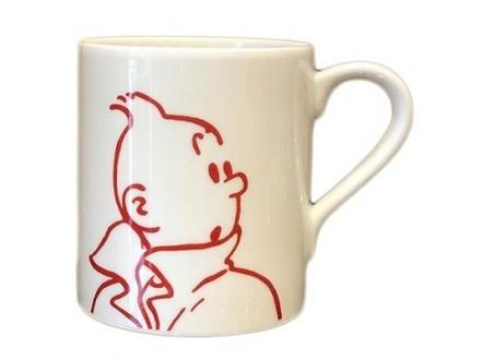 Šolja - Tintin, Portrait - Tintin