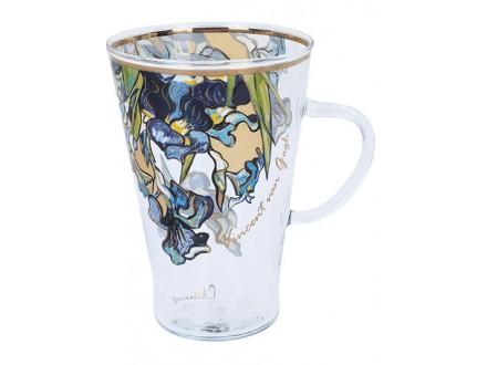 Šolja - Van Gogh, Irises - Van Gogh