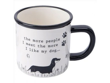 Šolja - Woofs And Whiskers, The More People I Meet The More I Like My Dog... - Woofs &; Whiskers