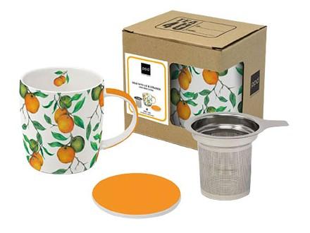 Šolja sa cediljkom - Beautiful Oranges - Jungle