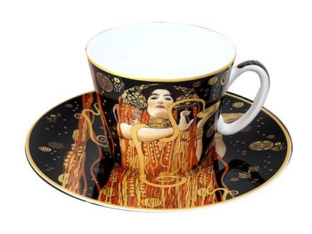 Šolja sa tacnom - Klimt, Medicine
