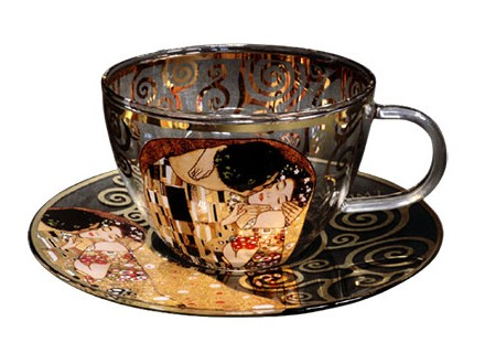 Šolja sa tacnom - Klimt, The Kiss - Gustav Klimt