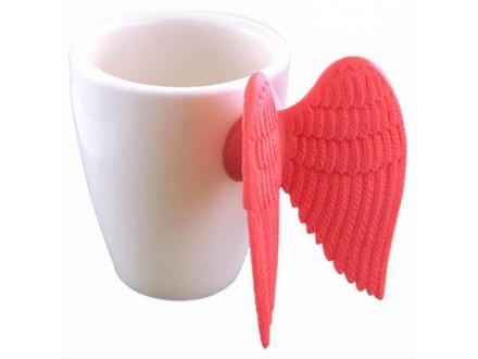 Šolja za espresso - Angel Wing, Pink - A table et en cuisine