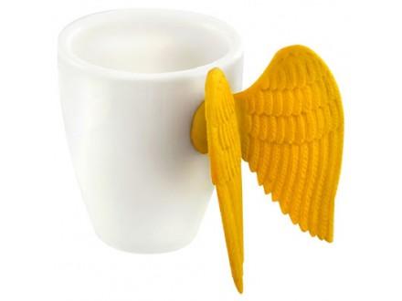 Šolja za espresso - Angel Wing, Yellow - A table et en cuisine