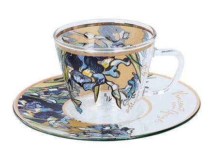 Šoljica za espreso - Van Gogh, Irises - Van Gogh