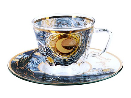 Šoljica za espreso - Van Gogh, The Starry Night