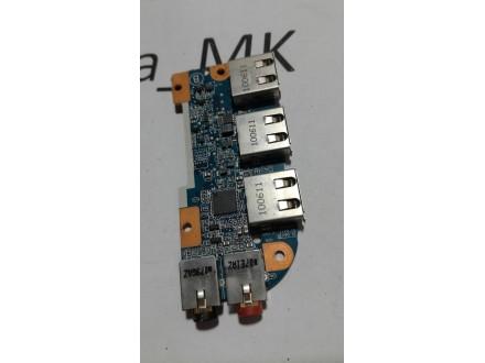 Sony PCG-71211m USB i Audio konektor