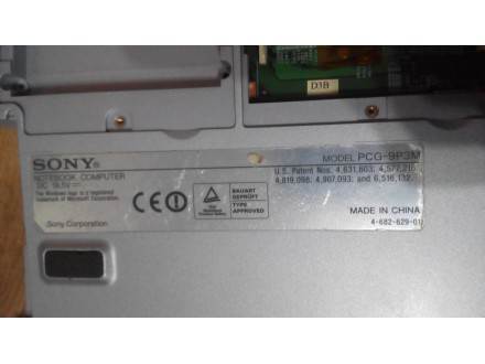 Sony VAIO PCG-K115Z Maticna ploca sa donjim delom