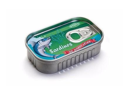 Spajalice u kutiji, Sardines