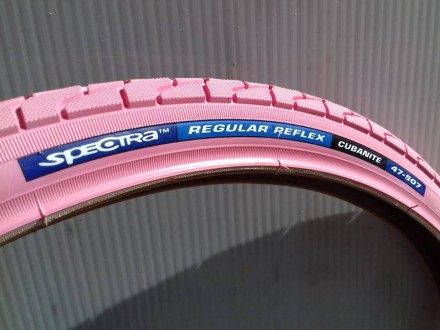 Spoljna guma za bicikl CST Spectra roze Cubanit 24x1.75