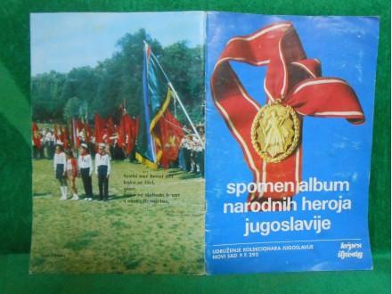 Spomen album narodnih heroja Jugoslavije-heroes Yu WWII