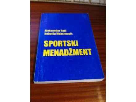 Sportski menadžment Raič Maksimović